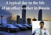 Russian lesson office worker