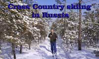 Russian lesson - skiing