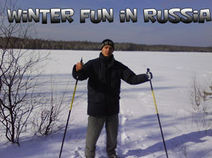 winter fun in Russia